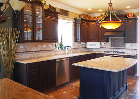 Refinishing Kitchen Cabinets Before And After Photos Picture On